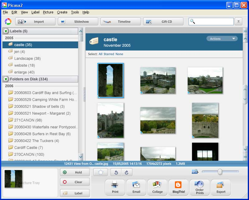 picasa 3 free download for windows xp
