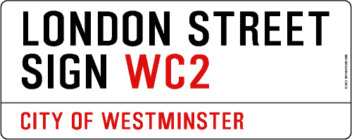 Create your own London Street sign!